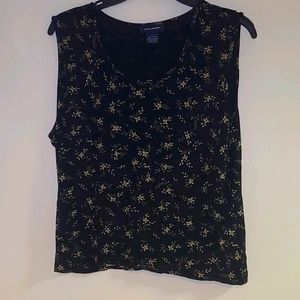 The Limited Polyester Floral Tank